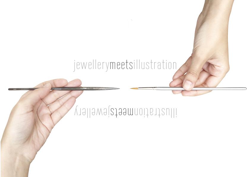 Jewellery meets Illustration