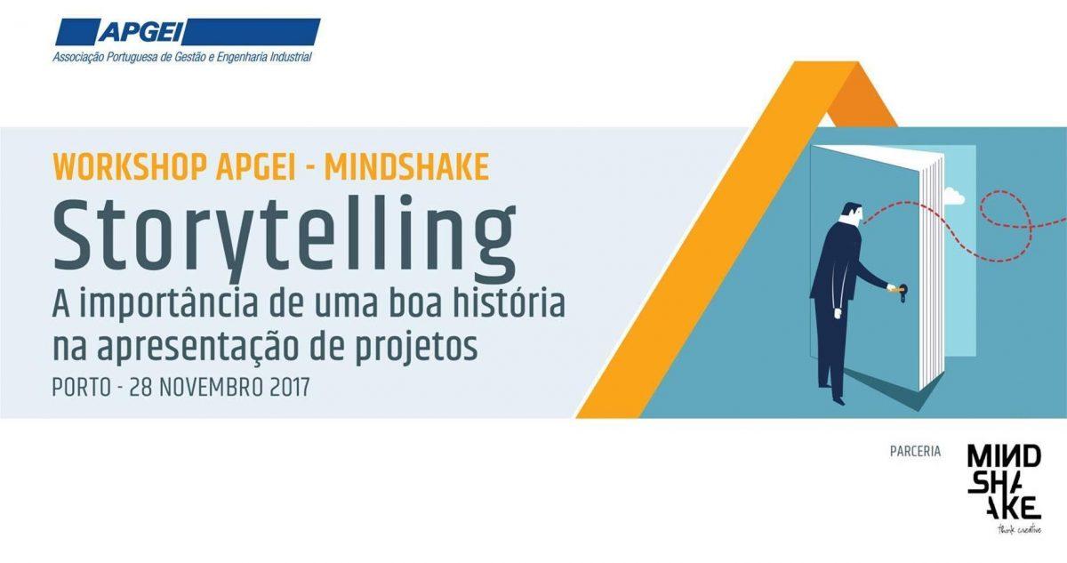 Workshop STORYTELLING: A importância de uma boa história na apresentação de projetos